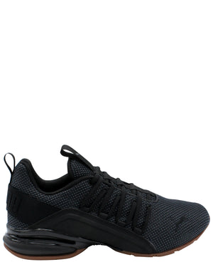 Men's Axelion Mesh Sneaker - Black