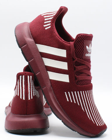 ADIDAS-Men's Swift Run Sneaker - Burgundy White-VIM.COM
