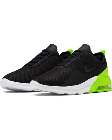 Men's Nike Air Max Motion 2 Sneaker - Black White Volt