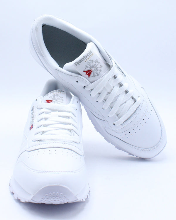 Men's Classic Leather Sneaker - White