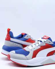 Mens X-ray Sneaker - White Blue Red