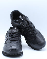 Mens 574 Metal Sport Shoe - Black