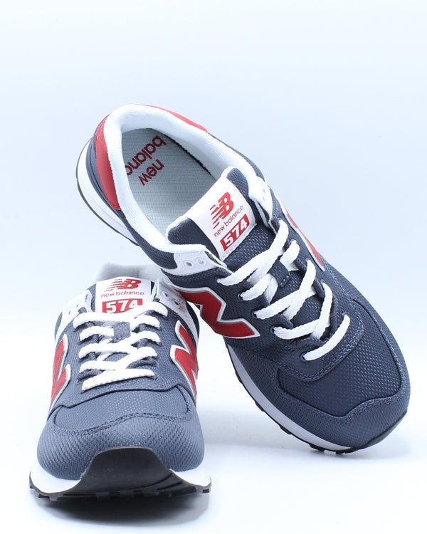 Men's 574 Summer Mesh Sneaker - Thunder Navy Red