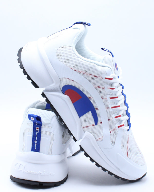 CHAMPION-Men's Rf Rpo Runner Sneaker - White Navy-VIM.COM