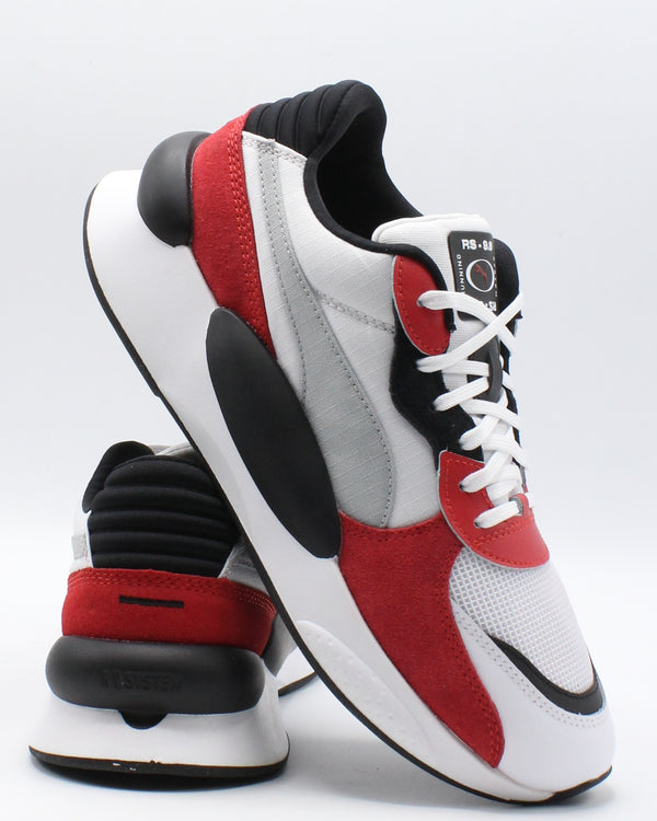 PUMA Men'S Rs 9 Space Sneaker - White Red - Vim.com