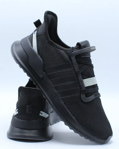 ADIDAS-Men's U Path Run Sneaker - Black-VIM.COM