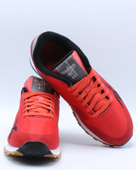 Mens Classic Leather Ati Wedge - Red
