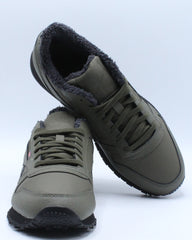 Mens Classic Leather Mu Sneaker - Green