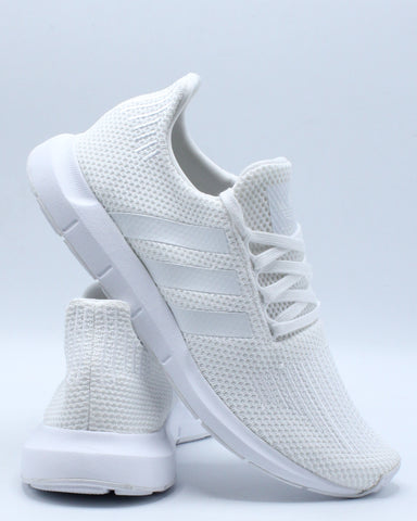 ADIDAS-Men's Swift Run Sneaker - White-VIM.COM