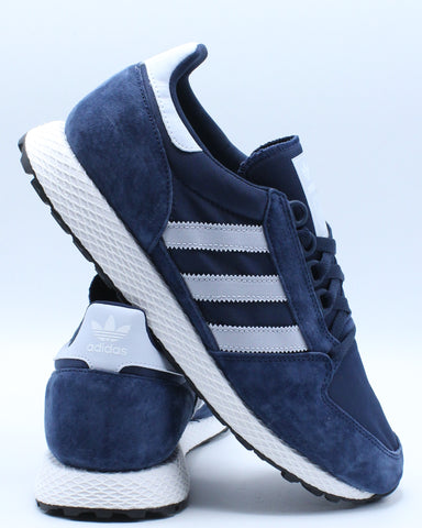 ADIDAS-Men's Forest Grove Sneaker - Navy Black-VIM.COM