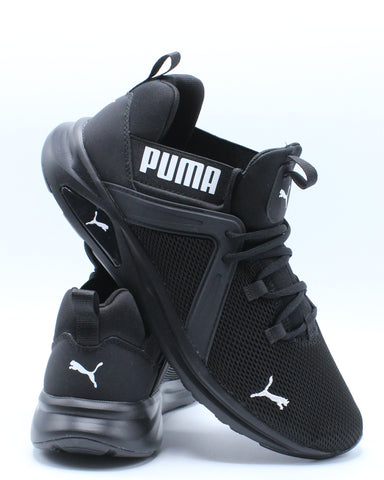 Men's Enzo 2 Sneaker - Black-VIM.COM