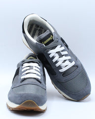 Mens Jazz Original Vintage Sneaker - Grey Black