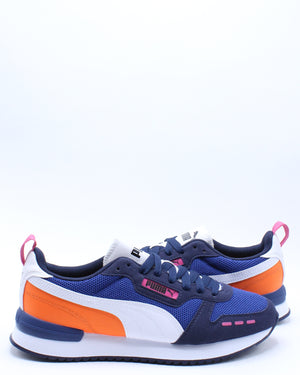 Men's R78 Sneaker - Black Orange
