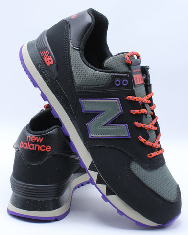 NEW BALANCE-Men's Ml574NFQ Low Top Sneaker - Black-VIM.COM