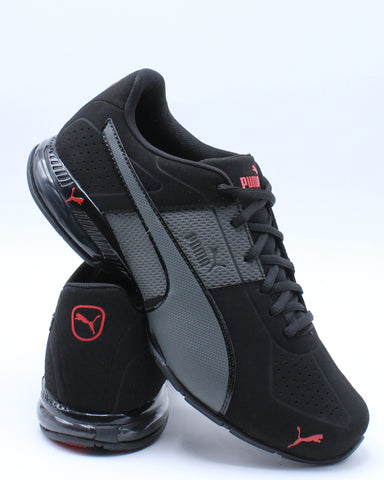 PUMA-Men's Cell Surin 2 Matte Sneaker - Black Grey-VIM.COM