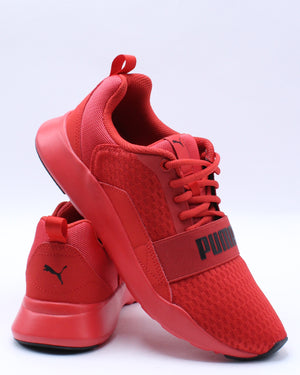 PUMA-Men's Wired Sneaker - Red-VIM.COM