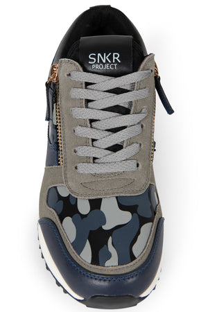 Men's Rodeo Sneaker - Grey Camo