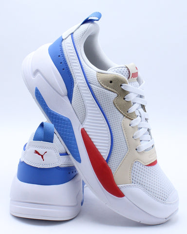 PUMA-Men's X Ray Sneaker - White Blue-VIM.COM