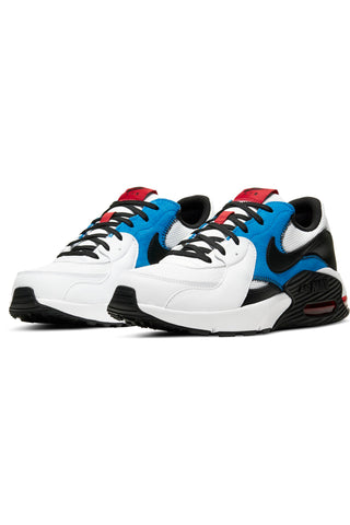 Men's Air Max Excee Shoe - White Blue