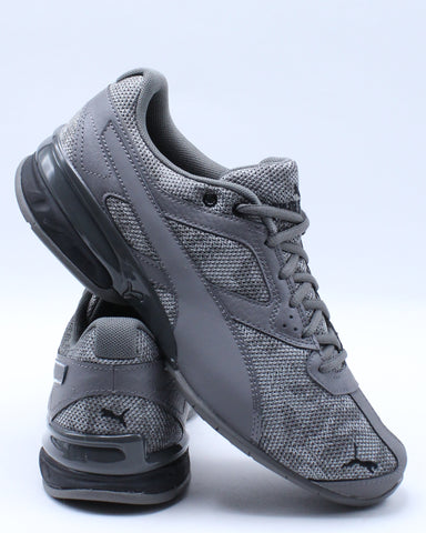 PUMA-Men's Tazon 6 Camo Mesh Shoe - Grey-VIM.COM