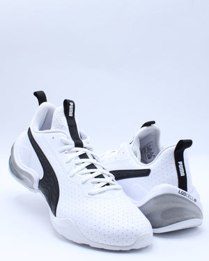 Men's Lcdcell Challenge Perforated Shoe - White Black
