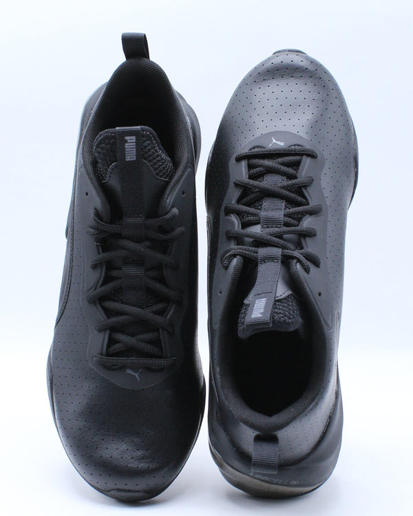 Men's Lcdcell Challenge Perforated Shoe - Black Grey