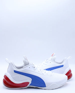 Men's Lcdcell Challenge Perforated Shoe - White Blue