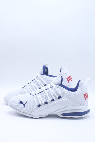 Men's Axelion Ls Shoe - White Blue