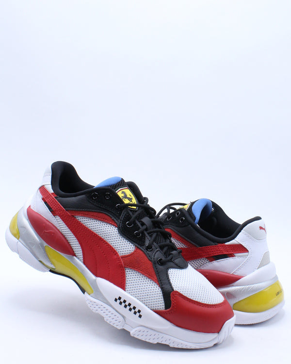 Men's SF Cell Epsilon Shoe - White Red
