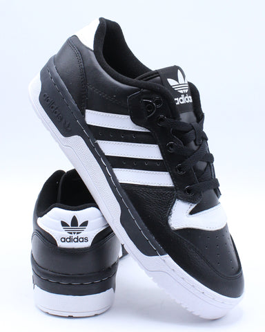 Men's Rivalry Low Sneaker - Black White