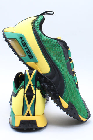 Men's H St 20 Jamaica Shoe - Green Yellow