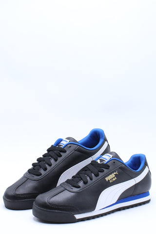 Men's Roma Basic Plus Sneaker - Black Blue