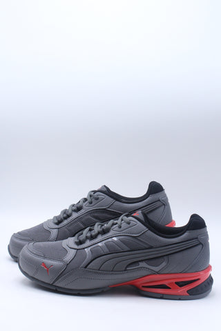 Men's Respin Sneaker - Grey Red