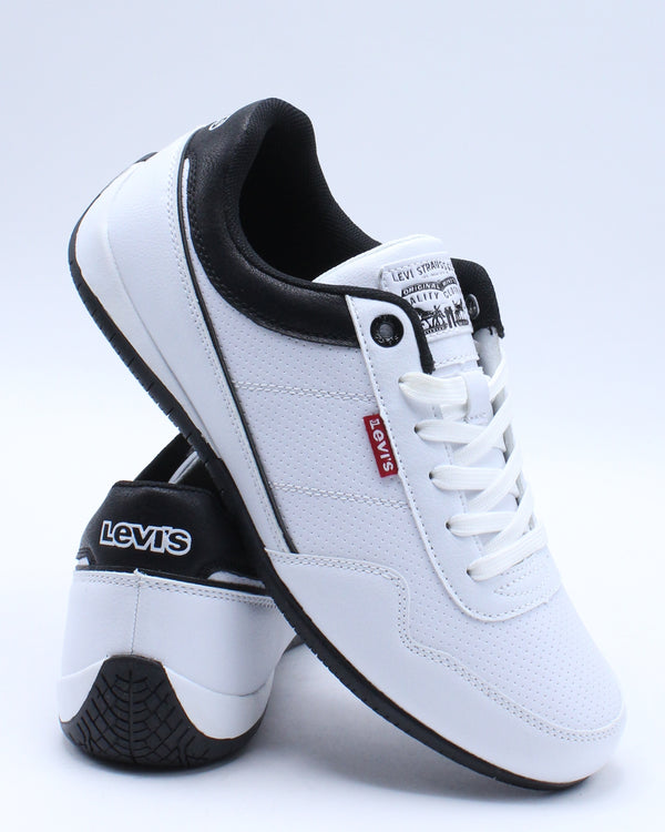 levis white sneakers