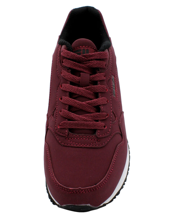 FILA Men'S Cress Low-Top Sneaker - Burgundy - Vim.com