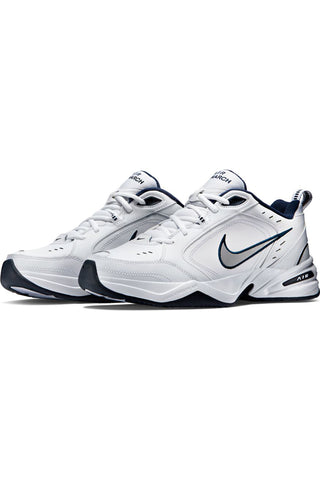 NIKE-Men's Air Monarch Iv Training Shoe - White Silver-VIM.COM