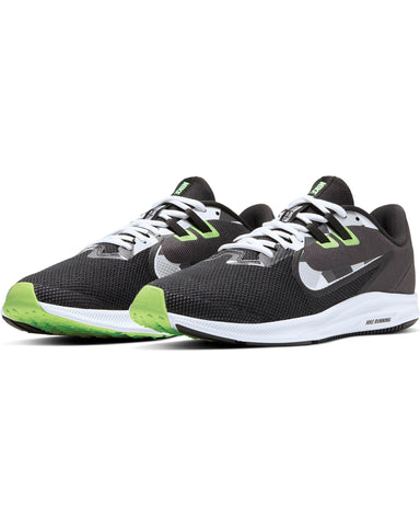 Men's Nike Downshifter 9 Sneaker - Black Grey