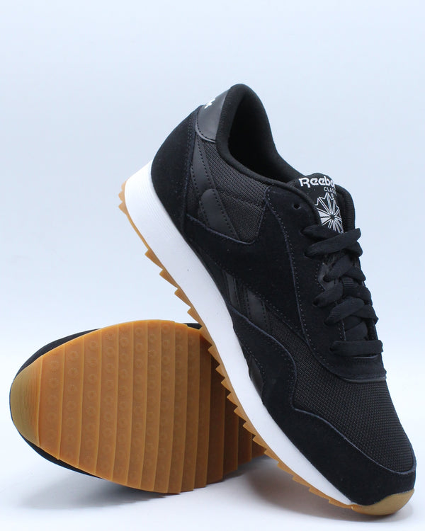 Men's Classic Nylon Ripple Sneaker - Black