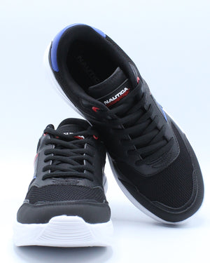 Men's Parks 2 Multi Lace Up Sneaker - Black