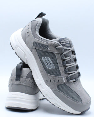 SKECHERS-Men's Oak Canyon Shoe - Grey-VIM.COM