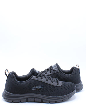 Men's Track Moulton Sneaker - Black
