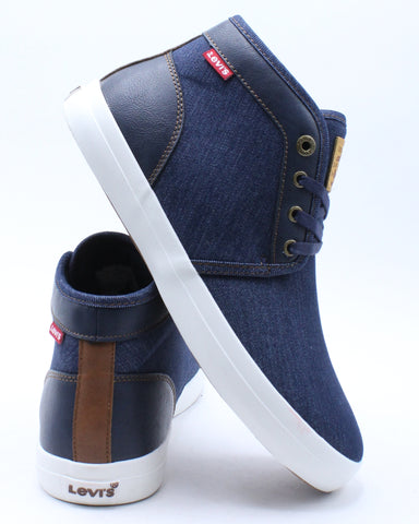 Men's Concord Denim Chukka Sneaker - Navy White