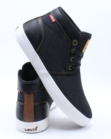 Men's Concord Denim Chukka Sneaker - Black White