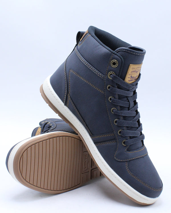Men's Stanton Waxed Ulnb Sneaker - Navy Tan