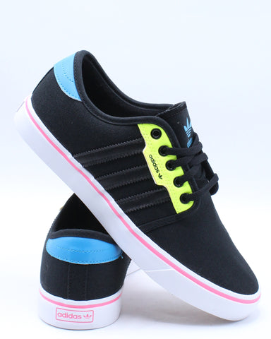 Men's Seeley Sneaker - Black Yellow