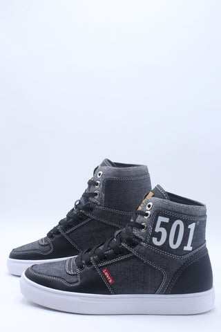 Men's 501 Mason Hi Top Shoe - Black