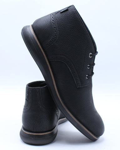 Men's Benson Wx Shoe - Black-VIM.COM