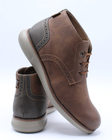 Men's Benson Wx Shoe - Tan Brown-VIM.COM