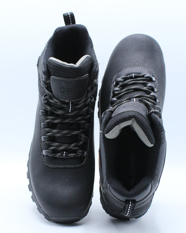 Men's Waterproof Hiker Ankle Boot - Black