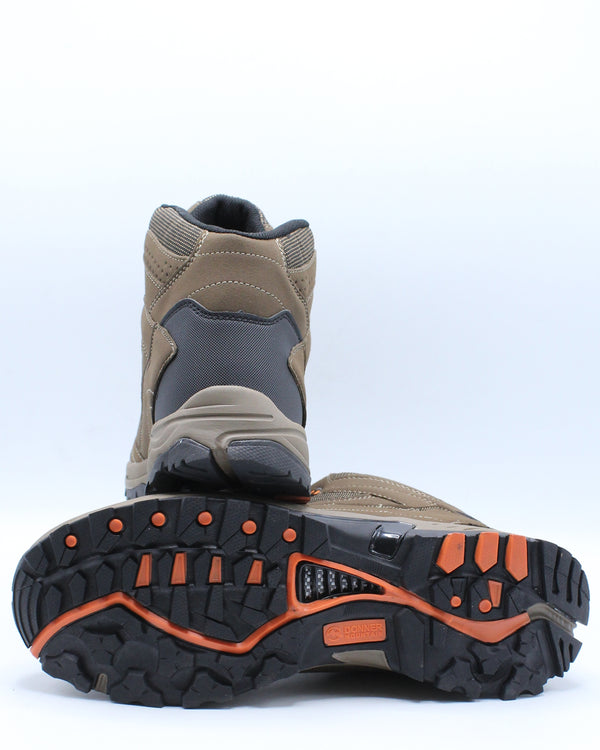 Men's Waterproof Hiker Grip Boot - Brown Orange